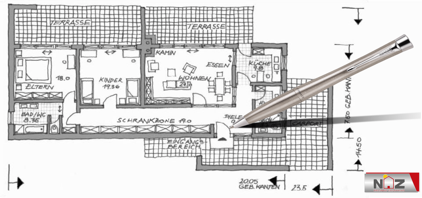 planung Architekt Bungalow